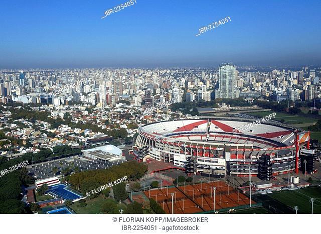 Estadio Monumental de Nuñez stadium of the Club Atlético River Plate football club, Belgrano district, Buenos Aires, Argentina, South America
