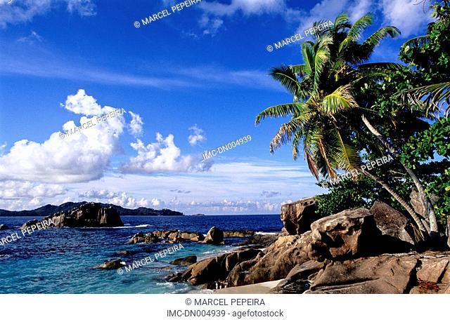Seychelles, Praslin, Saint Pierre islet