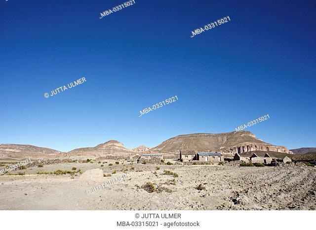 Bolivia, Salar de Uyuni, Tahua