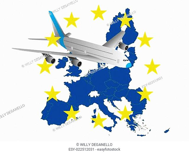 airplane europe