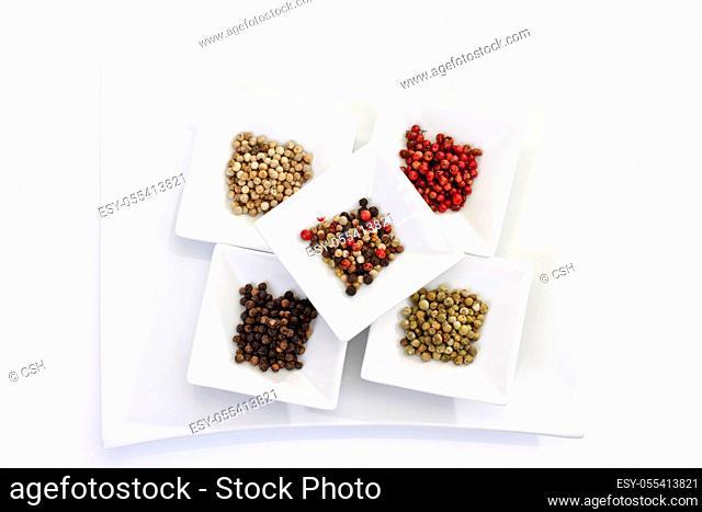 peppercorns, variety