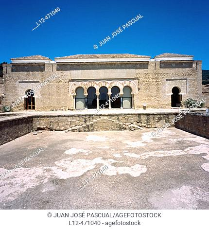 Ambassadors' Hall and cistern. Moorish ruins of Medina Azahara, Cordoba, Spain