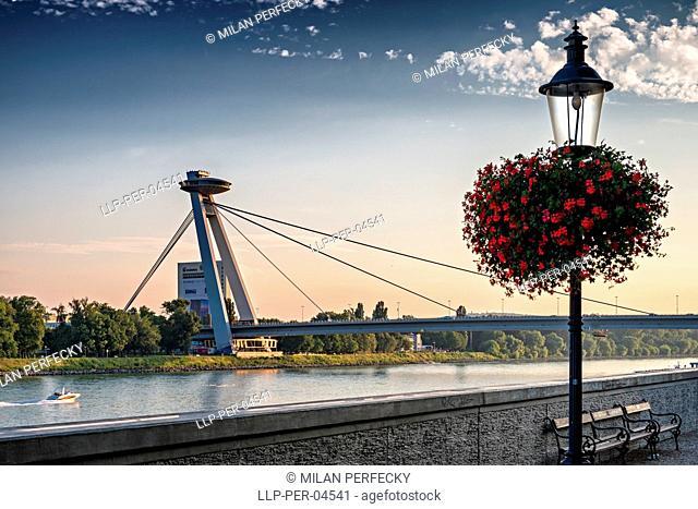 SNP Bridge, Bratislava, Slovakia