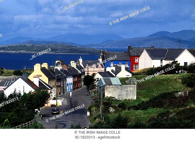 Eyries Village, Beara Peninsula, Co Cork, Ireland