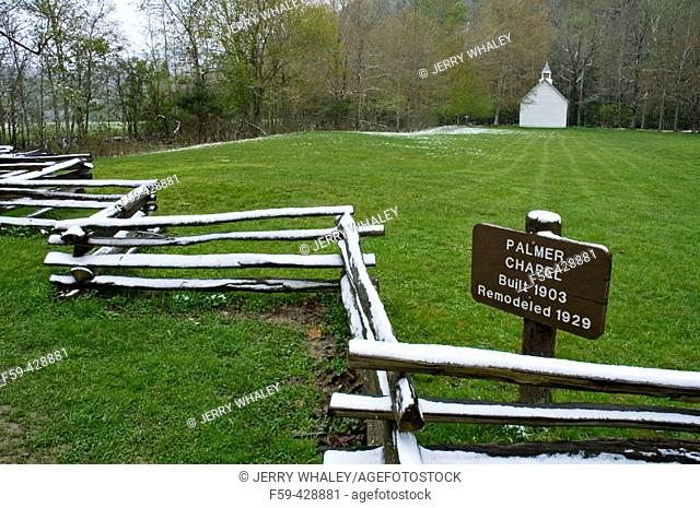 Palmer Chapel, Cataloochee Cove, Great Smoky Mtns NP, NC