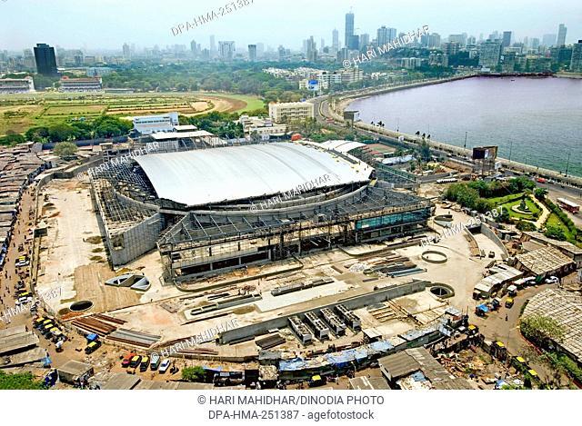 Sardar vallabhbhai patel stadium, worli, mumbai, maharashtra, india, asia