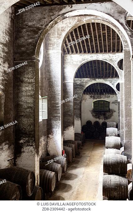 barbadillo winecellar. sanlucar de barrameda