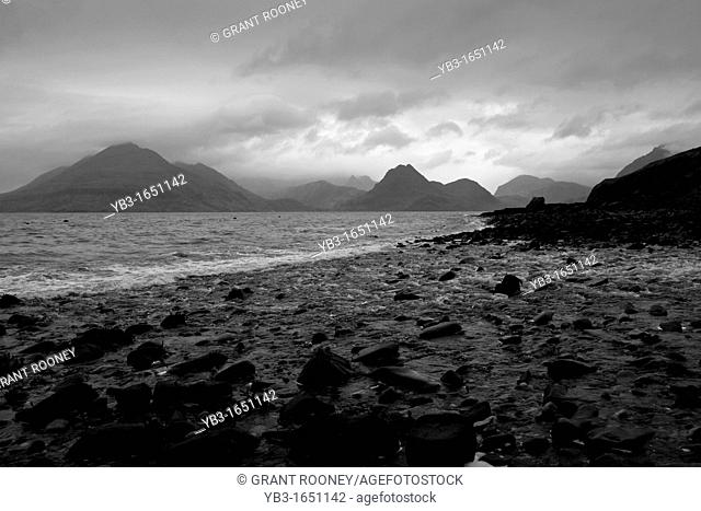 The Cuillin of Skye from Elgol Beach, Isle of Skye, Scotland