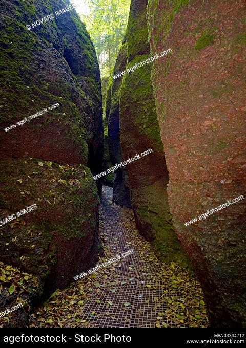 Dragon Gorge near Eisenach, Thuringia, Germany
