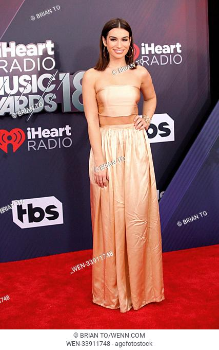 Celebrities attend 2018 iHeartRadio Music Awards at The Forum. Featuring: Ashley Iaconetti Where: Los Angeles, California