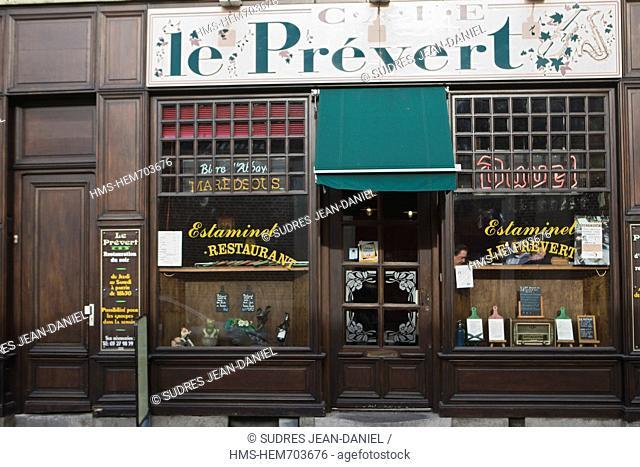 France, Nord, Douai, Tavern, Le Pre vert