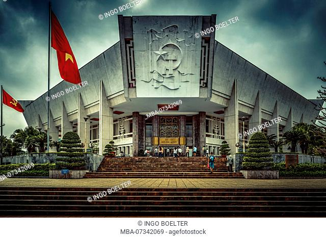 Hanoi, Vietnam, Southeast Asia, Asia, Ho Chi Minh, Museum, Bao Tang