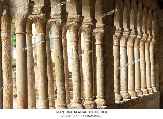 Iglesia del Salvador (church, 13th Century). Carabias. Ruta del Románico Rural. Guadalajara Province, Castile-La Mancha, Spain