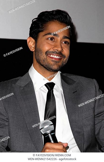 'The Hundred-Foot Journey' LA French Consulate Screening hosted by Destination Midi-Pyrenees Featuring: Manish Dayal Where: Beverly Hills, California