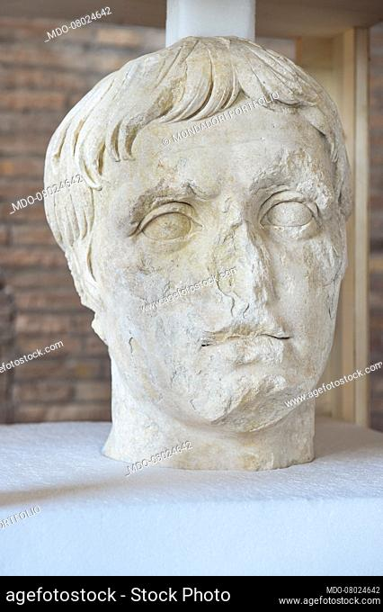 The archaeological excavation of Via Alessandrina was concluded, bringing to light a new portion of the Imperial Forums, with exceptional finds such as the head...