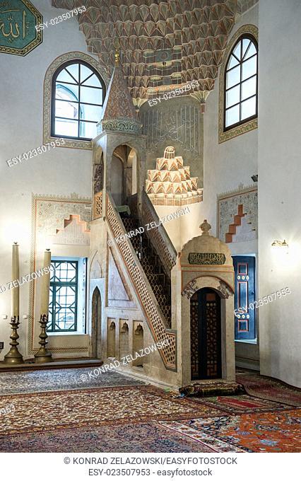 Gazi Husrev-beg Mosque in Sarajevo, Bosnia and Herzegovina