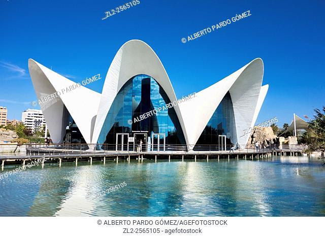 L'Oceanogràfic, Ciutat de les Arts i de les Ciències, Valencia, Spain