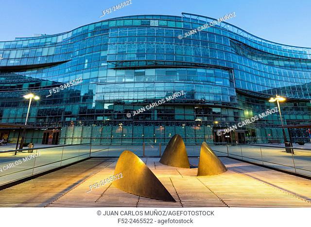 Plaza Bizkaia building, Bilbao, Bizkaia, Basque Country, Spain, Europe