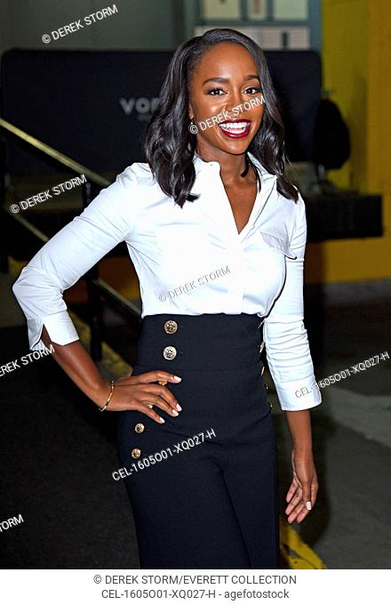 Aja Naomi King out and about for Celebrity Candids - WED, , New York, NY October 5, 2016. Photo By: Derek Storm/Everett Collection