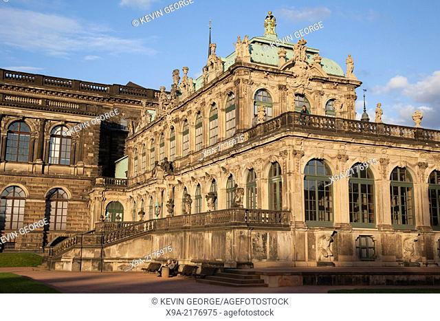Zwinger Complex, Dresden, Saxony, Germany