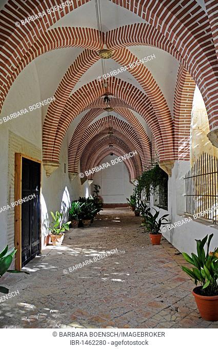 Arcade, San Jeronimo de Cotalba monastery, Sant Jeronimo, Alfauir, Gandia, Costa Blanca, Alicante province, Spain, Europe