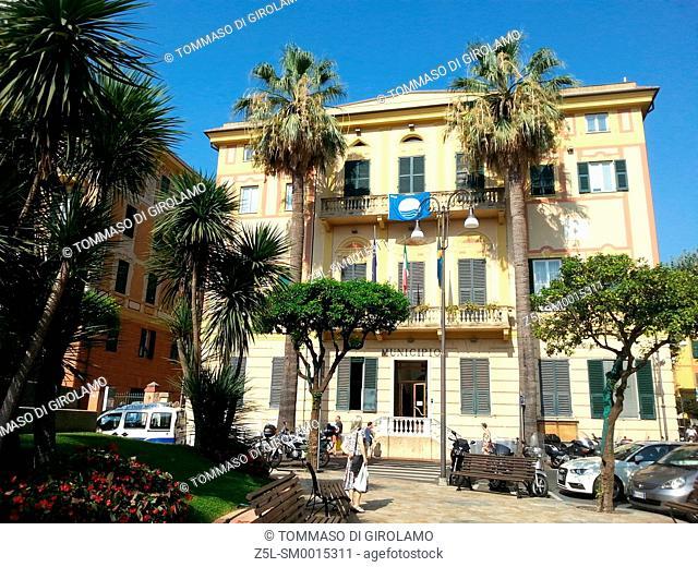 Italy, Liguria, Santa Margherita Ligure, Architecture, Town Hall