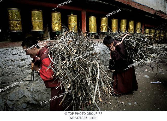 Monastery Kathok Sichuan Province China