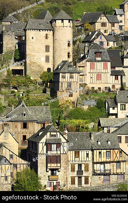 France, Aveyron, Unesco World Heritage Site, Conques