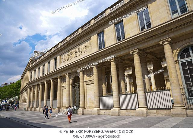 Universite Rene Descartes, St Germain des Pres, Left Bank, Paris, France
