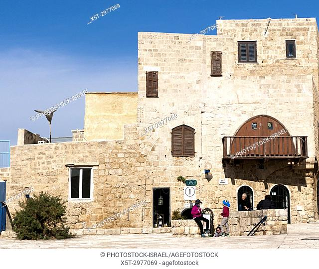 renovated building in Old Jaffa, Now an artist's colony, Israel