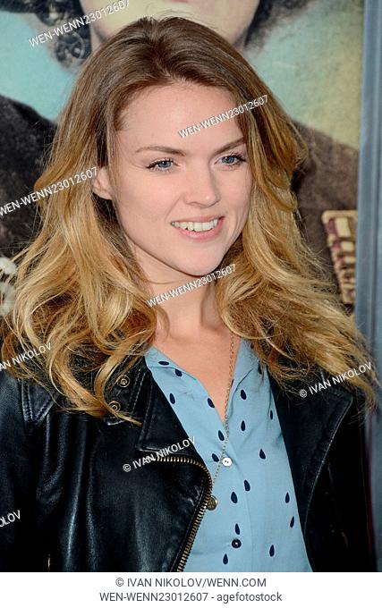 """""""""""""""Suffragette"""""""" New York Premiere - Red Carpet Arrivals Featuring: Erin Richards Where: New York City, United States When: 12 Oct 2015 Credit: Ivan..."""