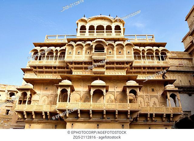 Diwan Nathmal ki Haveli, Jaisalmer, Rajasthan, India