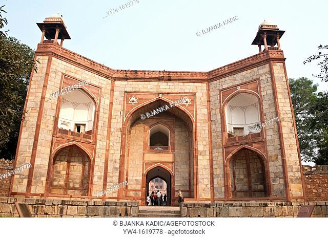 West Gate, Humayun's Tomb, New Delhi, India