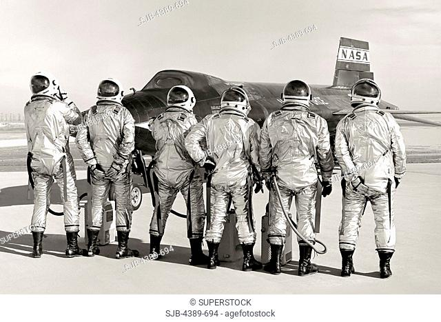 X-15 and Pilots