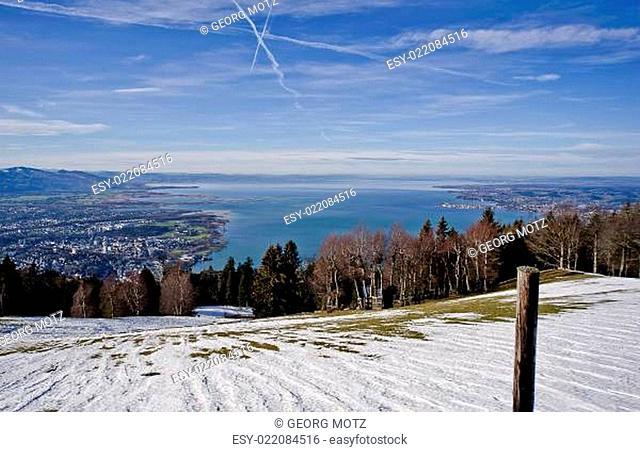 Januar am Bodensee