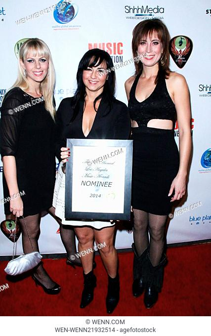 24th Annual Los Angeles Music Awards held at The Avalon Theater Featuring: Calico The Band Where: Los Angeles, California