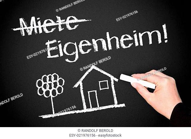 Miete und Eigenheim