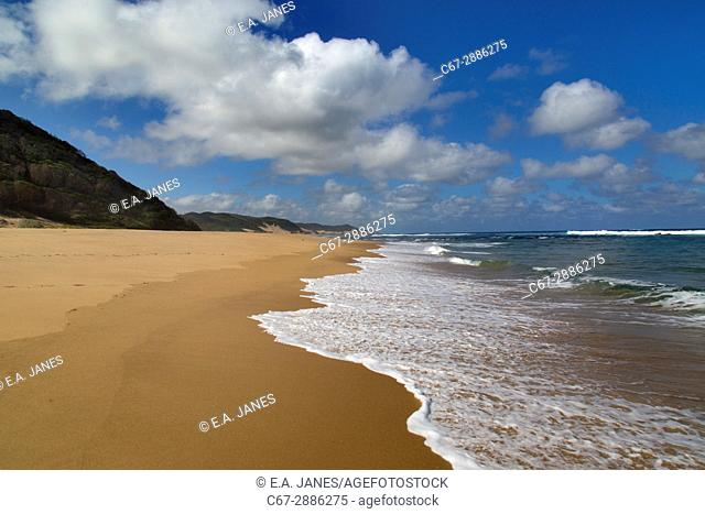 Thonga Beach Indian Ocean coast of Maputuland in KwaZulu-Natal
