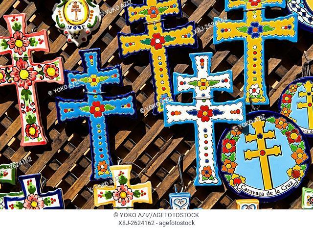 Spain, Murcia region, Caravaca de la Cruz, souvenirs