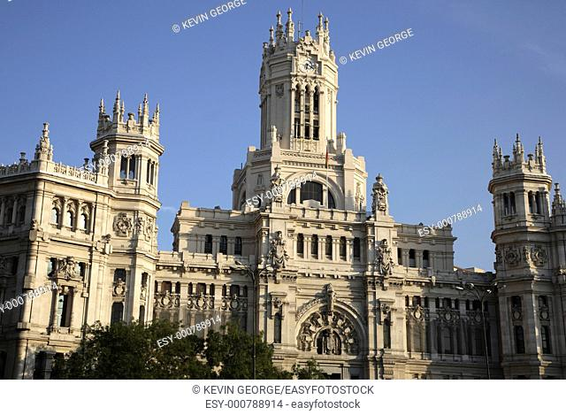 Palacio de Comunicaciones hosts Madrid Mayor's Office, Madrid, Spain