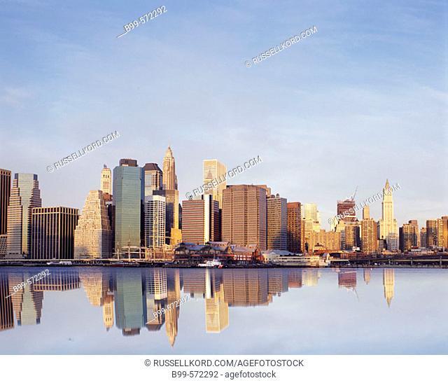 Downtown Skyline, Manhattan, New York, USA