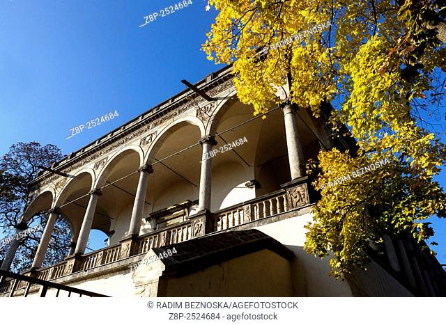 Belvedere, Queen Anne's Summer Palace, Prague Castle, Czech Republic, autumn