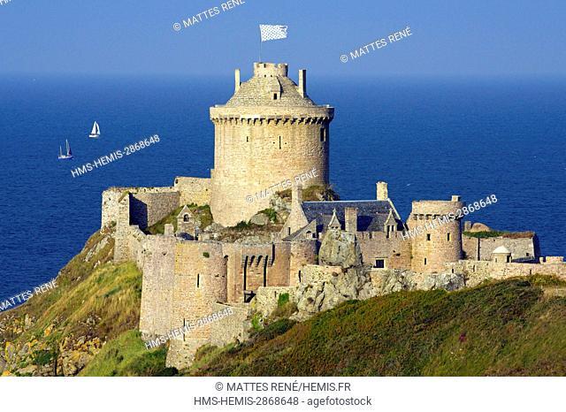 France Cote d'Armor, cote d'Emeraude, Cap Frehel and Fort La Latte