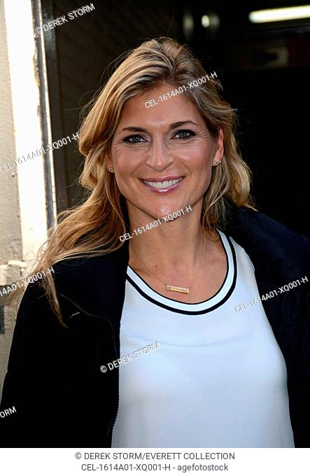 Gabrielle Reece out and about for Celebrity Candids - THU, , New York, NY April 14, 2016. Photo By: Derek Storm/Everett Collection