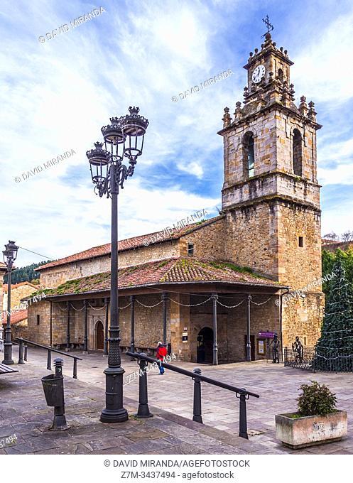 Iglesia de San Juan. Balmaseda. Vizcaya. País Vasco. España