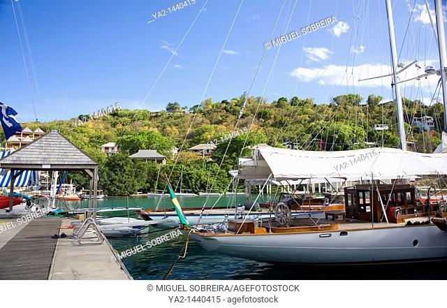 Antigua Racing week - Falmouth Harbour Yachts