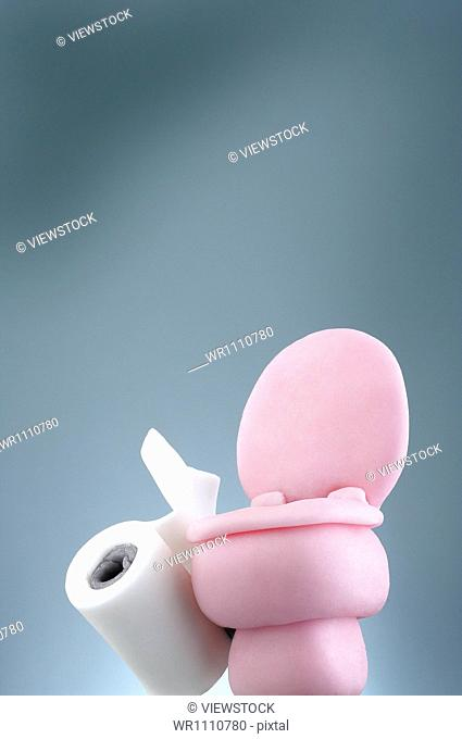 Closestool toy