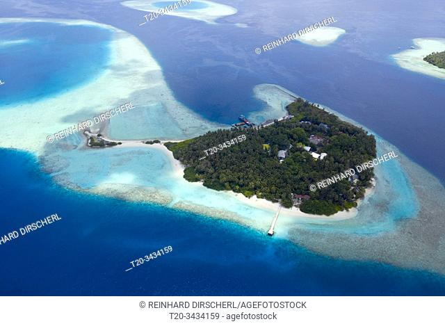 Vacation Island Villivaru, South Male Atoll, Indian Ocean, Maldives