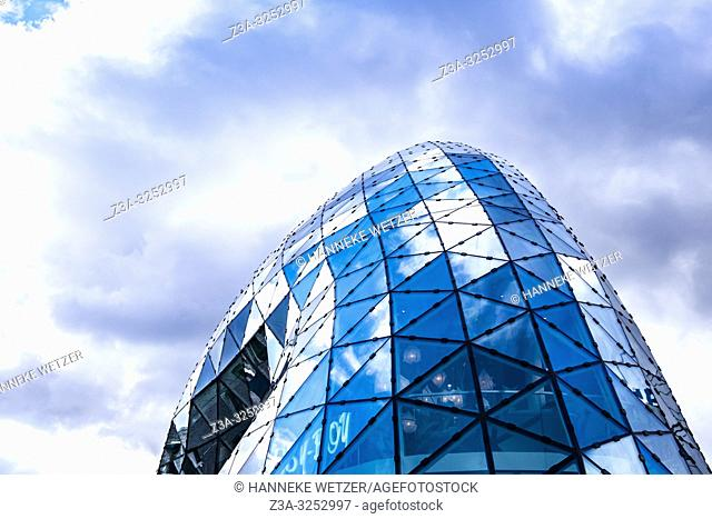 Blob building in Eindhoven, The Netherlands, Europe