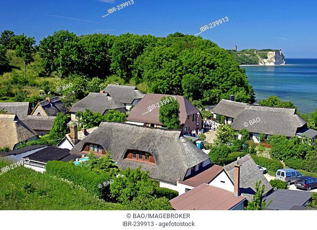 Village Vitt, Cape Arkona, Ruegen, Mecklenburg-Western Pomerania, Germany